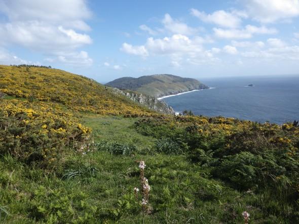 Tämäkin kesän reissut veivät upeisiin maisemiin. Tässä Atlantin rannikkoa Espanjasta Raid Gallaeciasta.