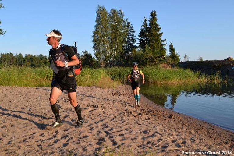 Endurance Questissa onneksi meottiin suurimmaksi osaksi. Kovasti juokspainotteinen 24--tuntinen olisi käynyt turhan tuskaiseksi.