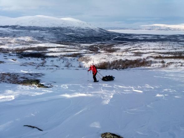 Tässä kohtaa lumen puuttuminen oli vain etu.