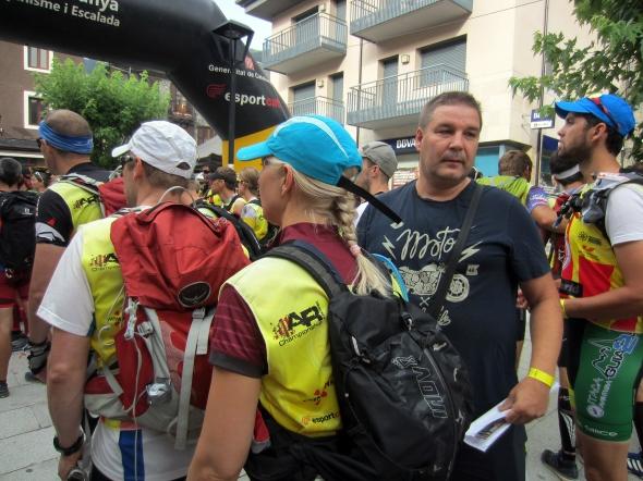 Kilpailun Sport Ident -ajanotosta vastasi suomalaislähtöinen Niclas. Hänestä oli apua briefin ja ohjeiden suomentamisessa, jotka tulivat jälleen espanja-voittoisesti.