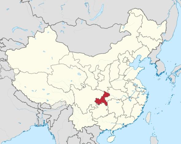 Sydän-Kiinaan