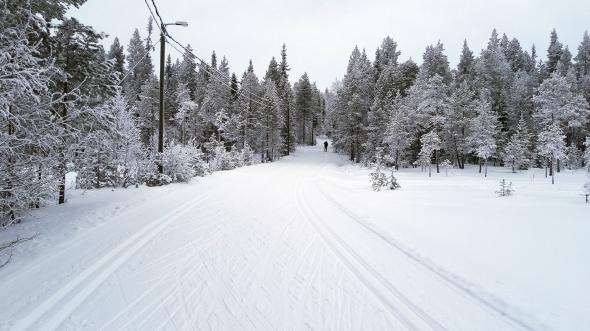 Ounasvaaralla ovat hiihtokellit parhaimmillaan.